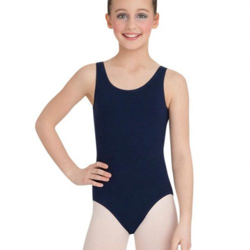 Capezio High-Neck Tank Leotard Navy