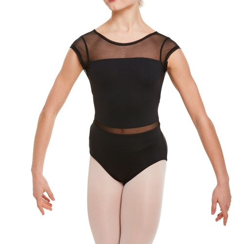 Leotard Mesh Black